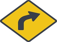 Direction Signs on Roads and Highways