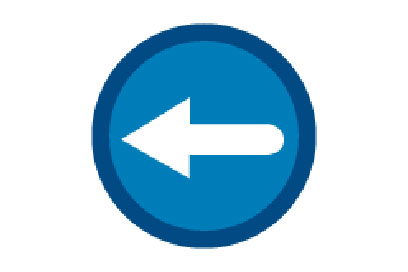 Go Left - Direction Signs