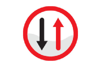 Opposite Direction - Direction Signs