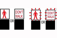 Pedestrian Don't Walk Signal