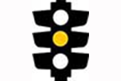 Yellow Light - Trafic Light Signs Meaning