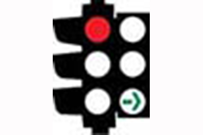Green Turning Arrow - Traffic Lights Signs Meaning