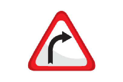 Right Bend Bend - Direction Signs