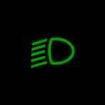 Audi A4 Dipped head lights