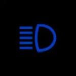 Audi A4 High-Beam headlights