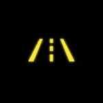 Audi A4 Lane departure warning
