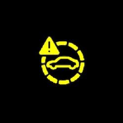 Audi TT RS coupe pre sense warning light