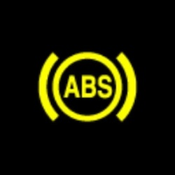 holden trax abs warning light