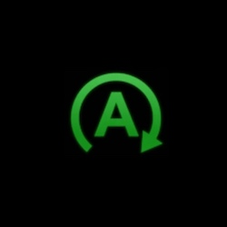 acura RDX service stop start system warning light