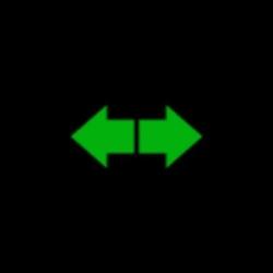 GMC Yukon turn signal indicator light