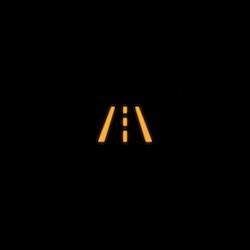 Jaguar E PACE lane departure warning