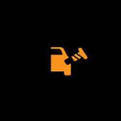 Jaguar E PACE loose fuel filler cap warning light