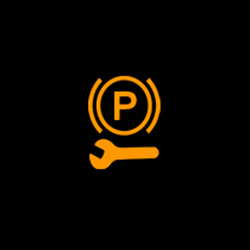 toyota camry service electric parking