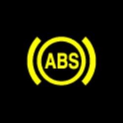 BMW 5 series ABS warning light