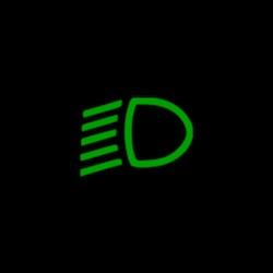 mercedes benz EQC dipped head lights