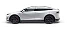 Tesla Model X dashboard lights and meaning